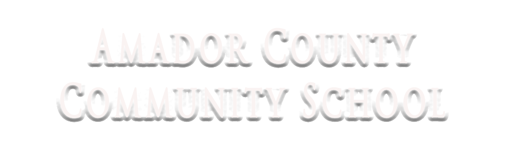 Amador County Community School